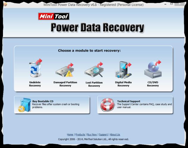 MiniTool Power Data Recovery لاسترجاع 2016 2014-09-02-10_11_13-