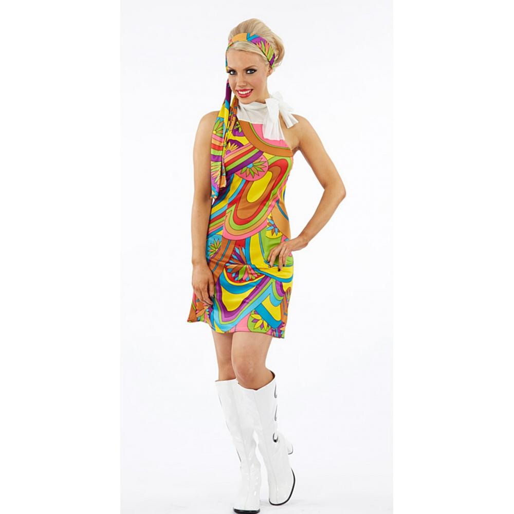 Cheap ladies 70s fancy dress