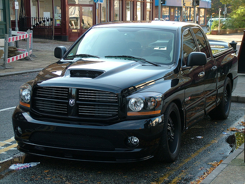 dodge ram srt 10 black