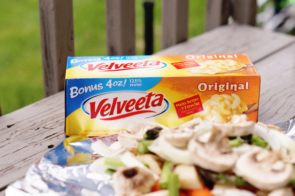 Velveeta Campfire Dinner #VelveetaRecipes