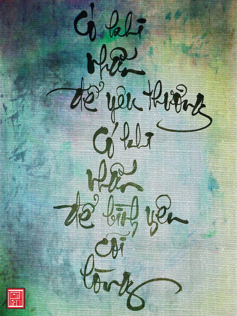 Có khi nhẫn để yêu thương có khi nhẫn để bình yên cõi lòng