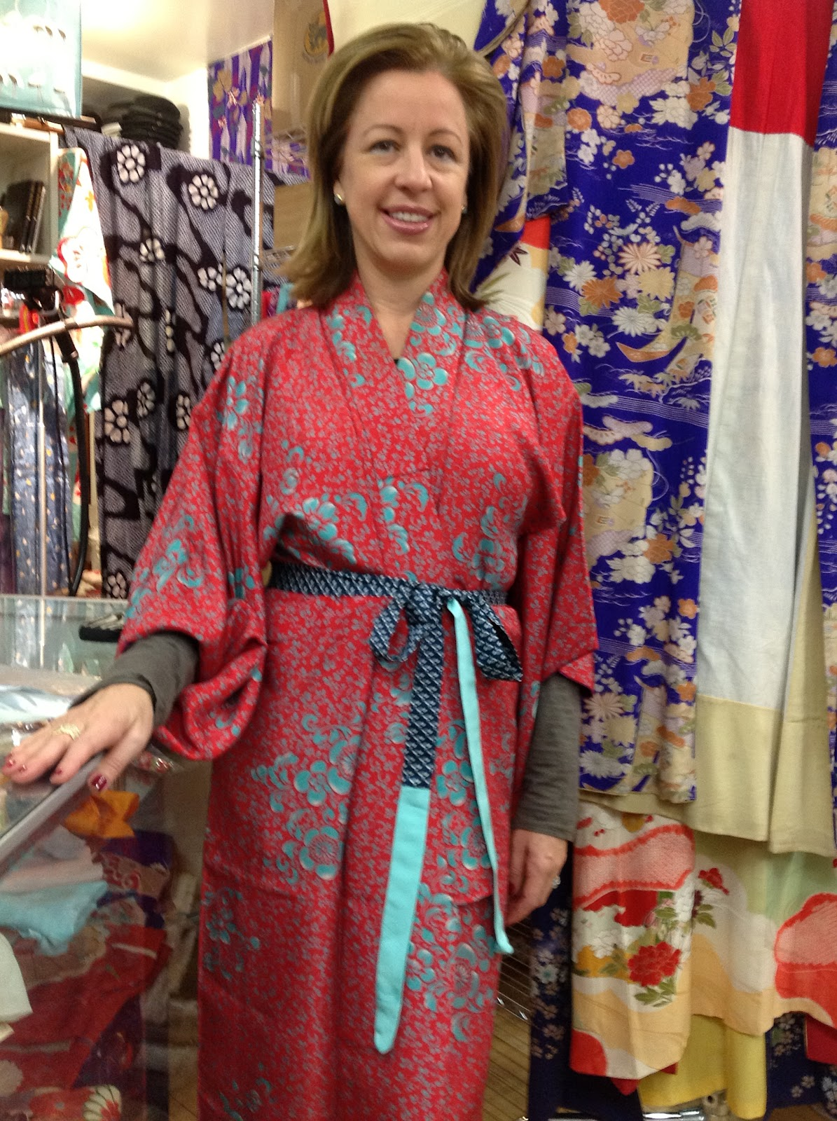 Vintage Kimono from Kimono House NY