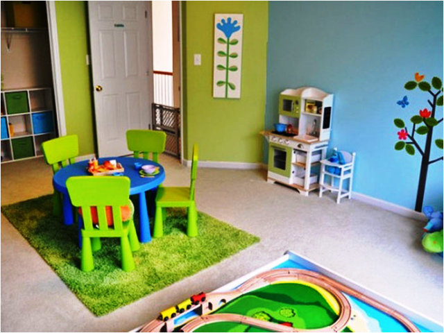 paint color ideas for playrooms