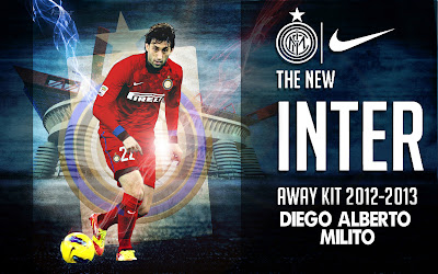 Wallpapers Diego Milito Inter Milan 2012-2013