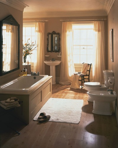 Interior home decoration european bathroom photos for European style bathroom