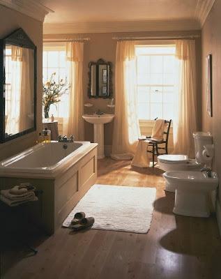 Interior Home Decoration: European Bathroom Photos