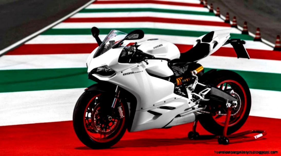 New White Color Ducati Superbike 899 Panigale Wallpaper Desktop