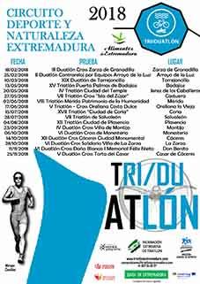 Circuito Extremeño de Triatlón y Duatlón 2018