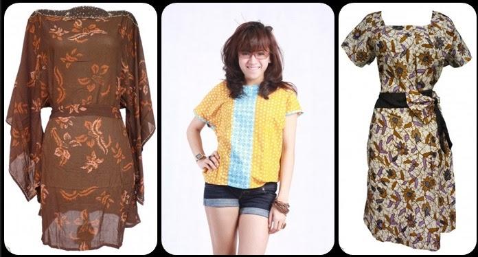 Model Baju Batik Modern Remaja - Batik Indonesia