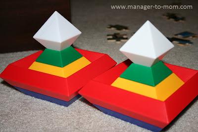 Matching block towers