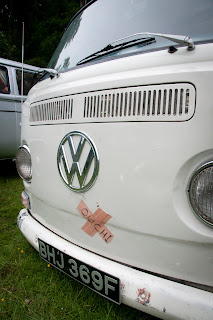 VW bay window at Plymouth Volkfest