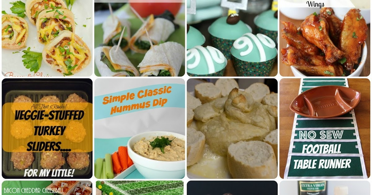 ... : 17 Foods and Crafts for a Super Bowl Party {MMM #261 Block Party
