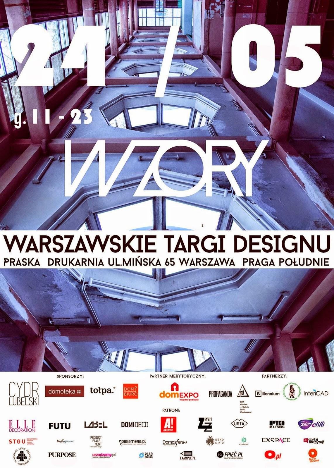 Warszawskie Targi Designu Wzory