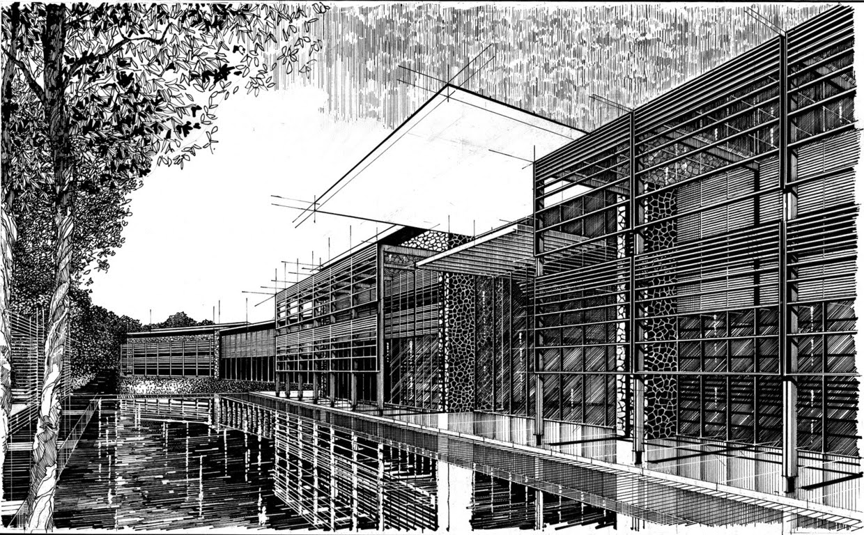 07-Paul-Hill-Pen-and-Ink-Architectural-Drawings-and-Sketches-www-designstack-co