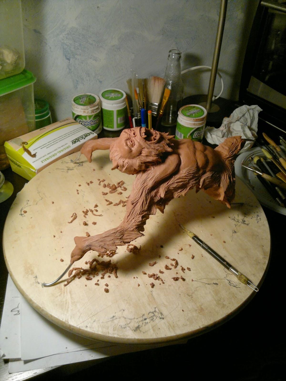 Yeti maquette wip