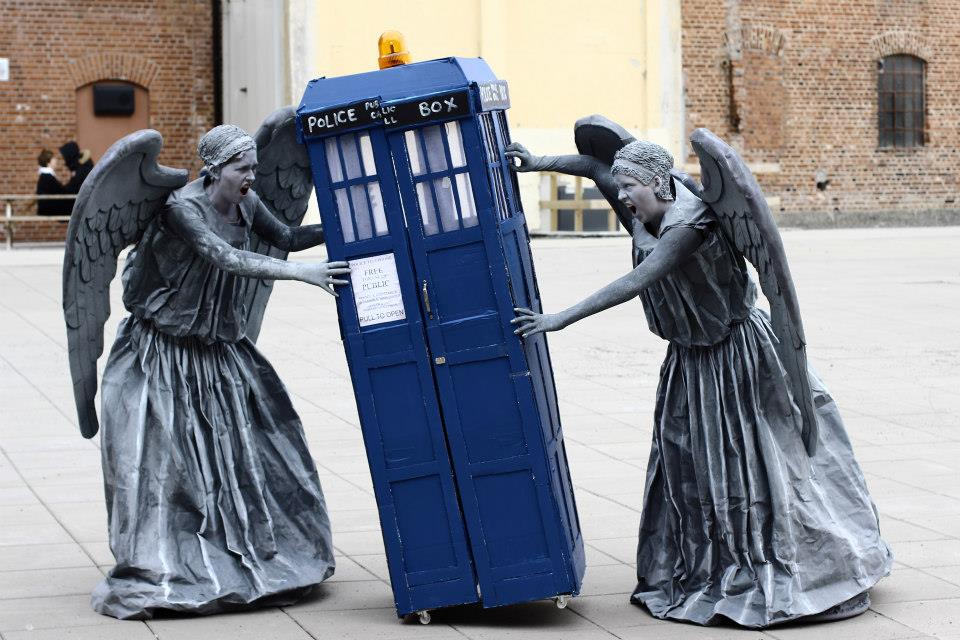 NEW Doctor Who Weeping Angel Cosplay Costume Custom-made #A.284
