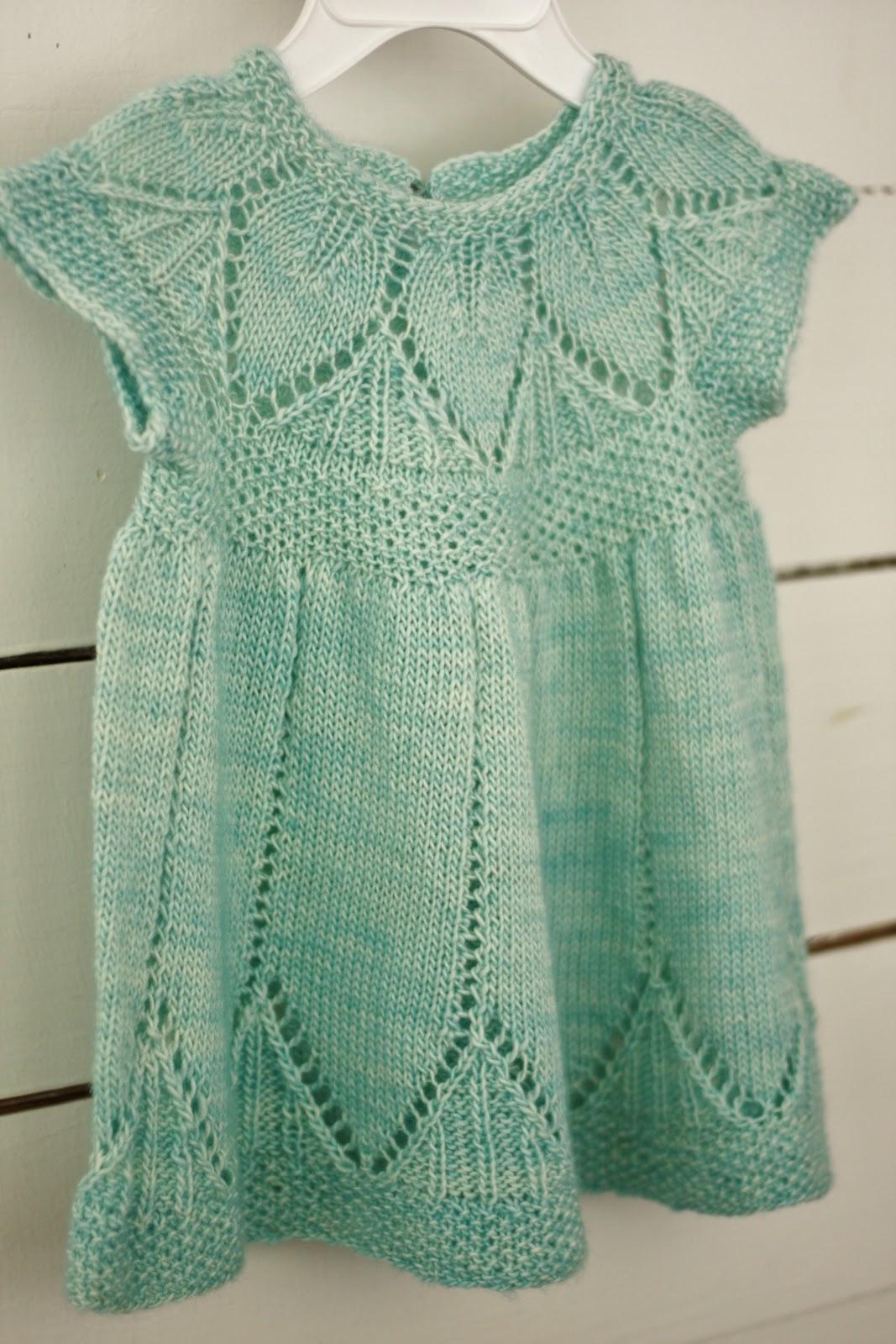 Clara Dress Knitting Pattern : The Brick Street Bungalow: Knitting Review 2012