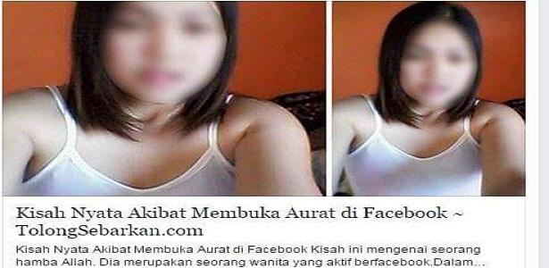 Jangan Upload Foto Sembarangan di Facebook