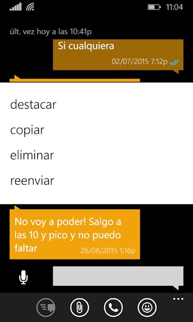 whatsapp destacar mensajes