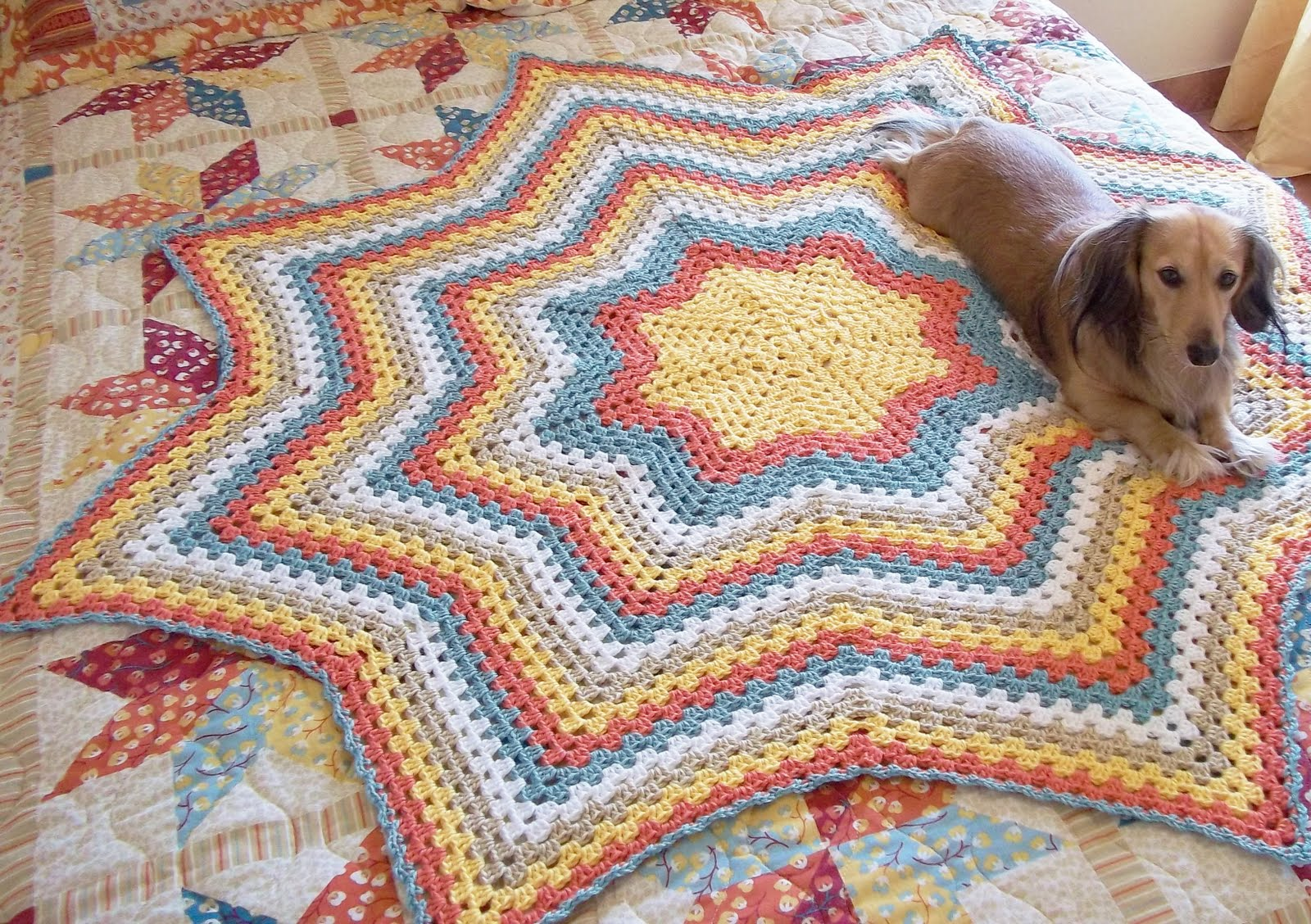 Easy Crochet Pattern: Granny Stripe Afghan Tutorial