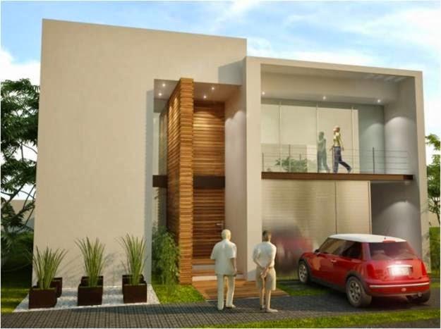 Fachadas de casas modernas fachada moderna en residencial for Casa mansion puebla