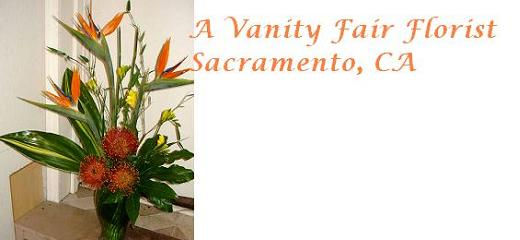 A Local Florist in Sacramento, CA - A Vanity Fair Florist