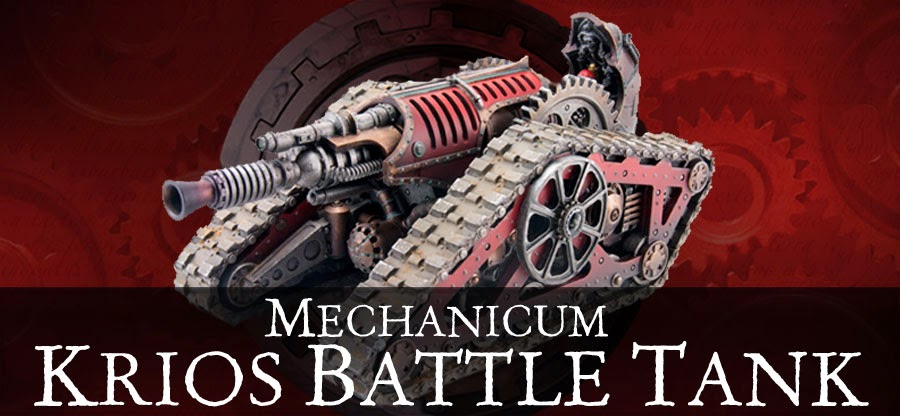 Mechanicum Krios Battle Tank
