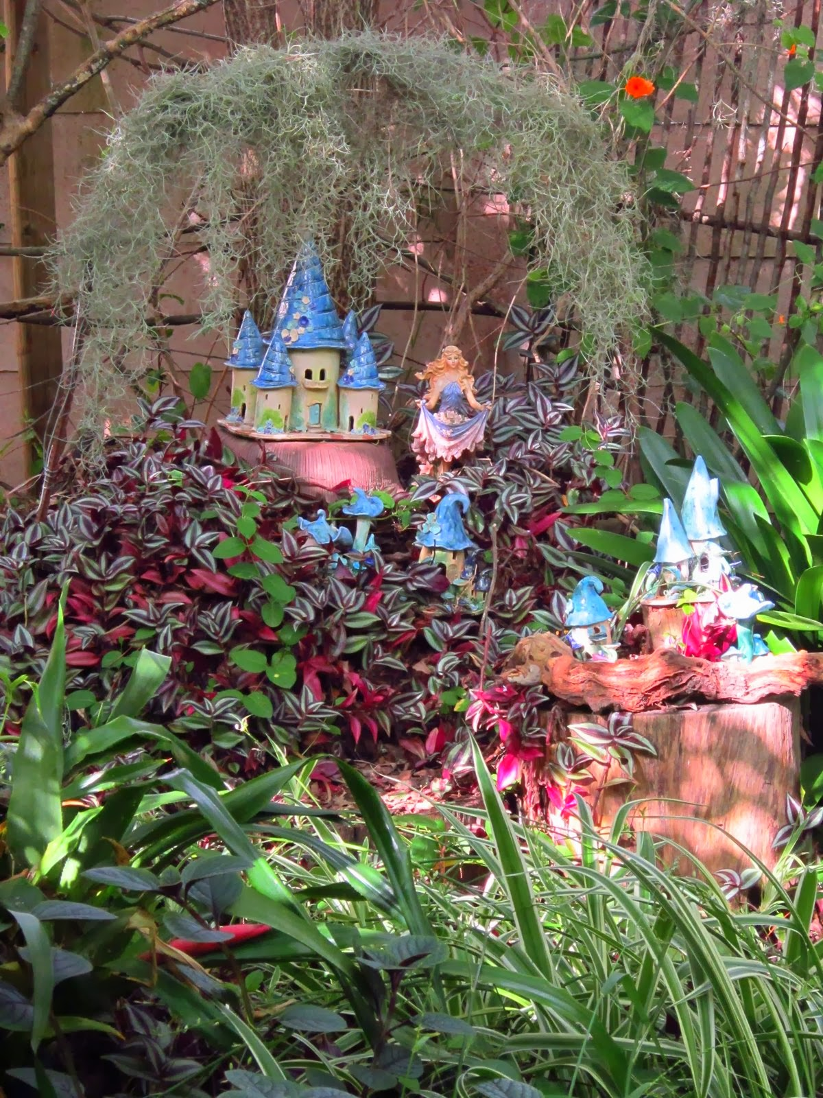 The continent of sulina a walk through the faerie garden - When you walk through the garden ...