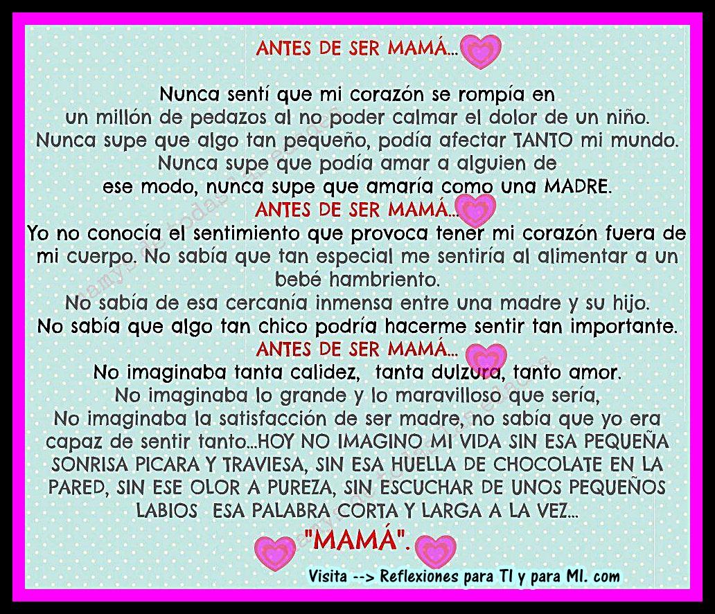 Reflexiones Para MI Mama