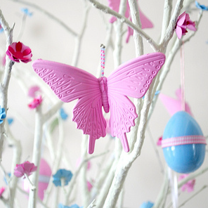 Easter hanging butterflies by Torie Jayne