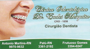 CLNICA ODONTOLGICA DR. EUDES MESQUITA - CRO - 1858 - CIRURGIO DENTISTA