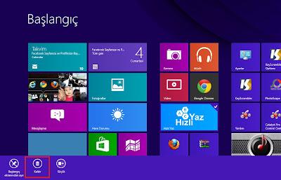 Windows 8 Başlat Ekranından Uygulama Kaldırma