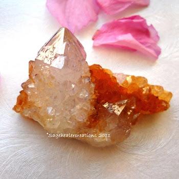 Lilac Amethyst Spirit Quartz
