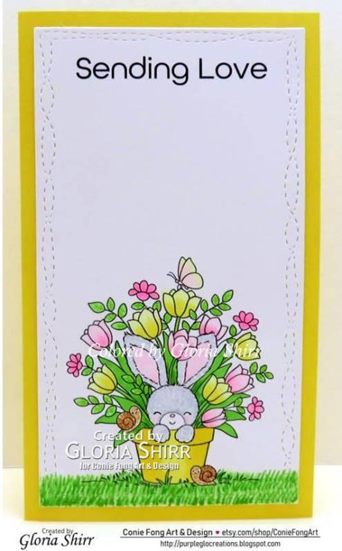 Featured Card at Crafty Animals Challenge Blog