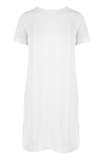 jacquard shift dress
