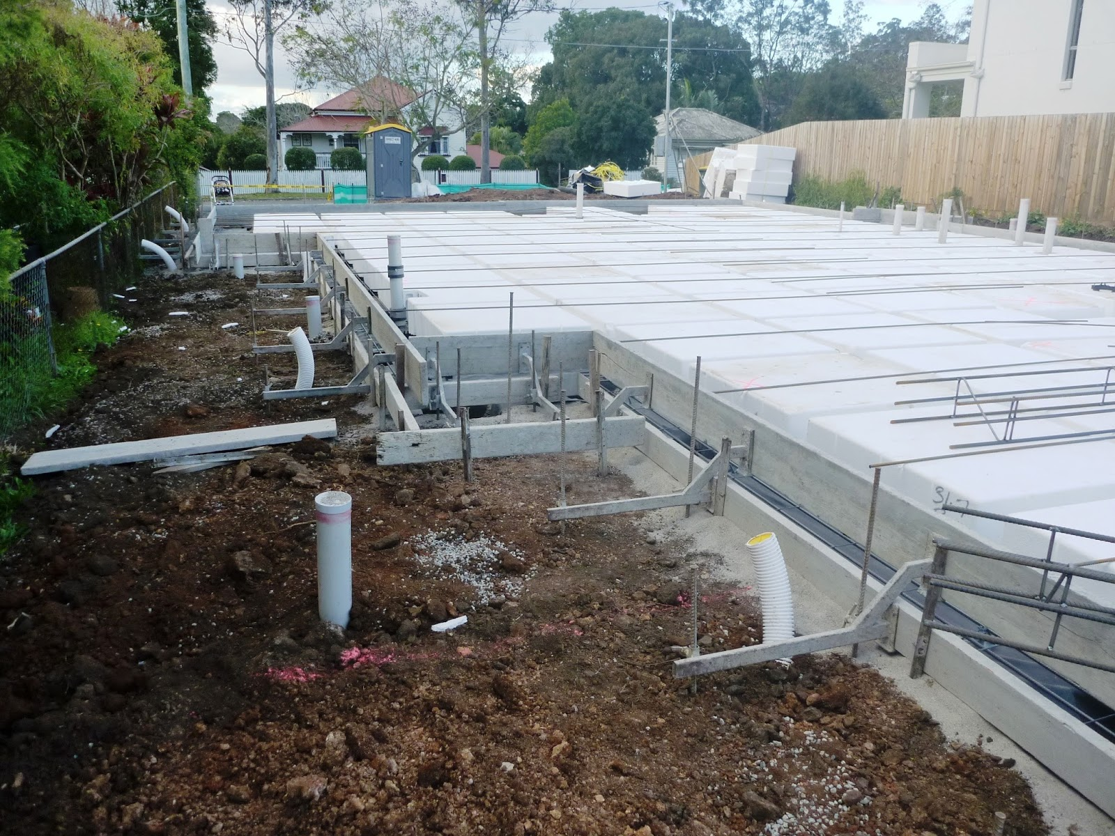 Building With Ownit Homes Slab Prep Slab Layout Piers