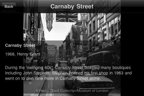 Museum of London: Streetmuseum para Android e iPhone
