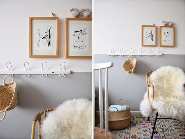 Half - paint walls