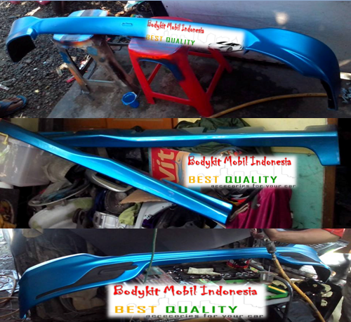 Proses Pengecatan Bodykit AGYA TRD