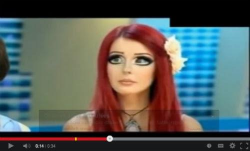 الدمية الأدمية - فتاه اوكرانية اذهلت العالم بشكلها