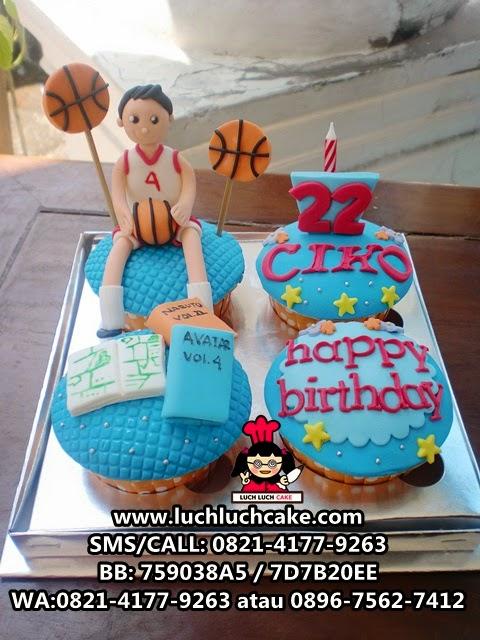 Cupcake Tema Basket Daerah Surabaya - Sidoarjo
