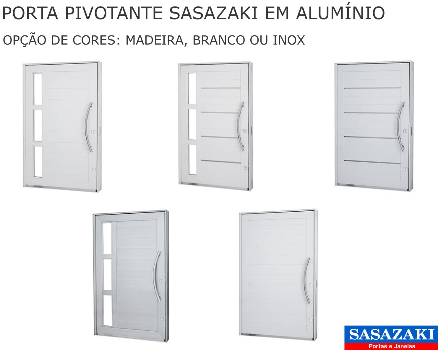 #004EC1 PORTA DE ENTRADA 1042 Portas E Janelas De Aluminio Da Sasazaki