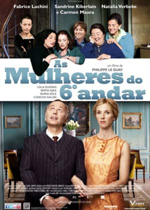 Filme Poster As Mulheres do 6º Andar DVDRip XviD Dual Audio & RMVB Dublado