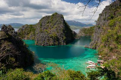 Palawan, the Philippines - Lake Kayangan , Coron Island, Palawan