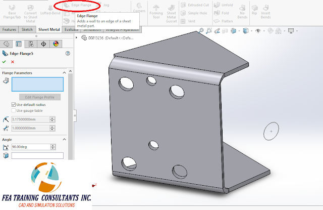 solidworks sheetmetal 2016
