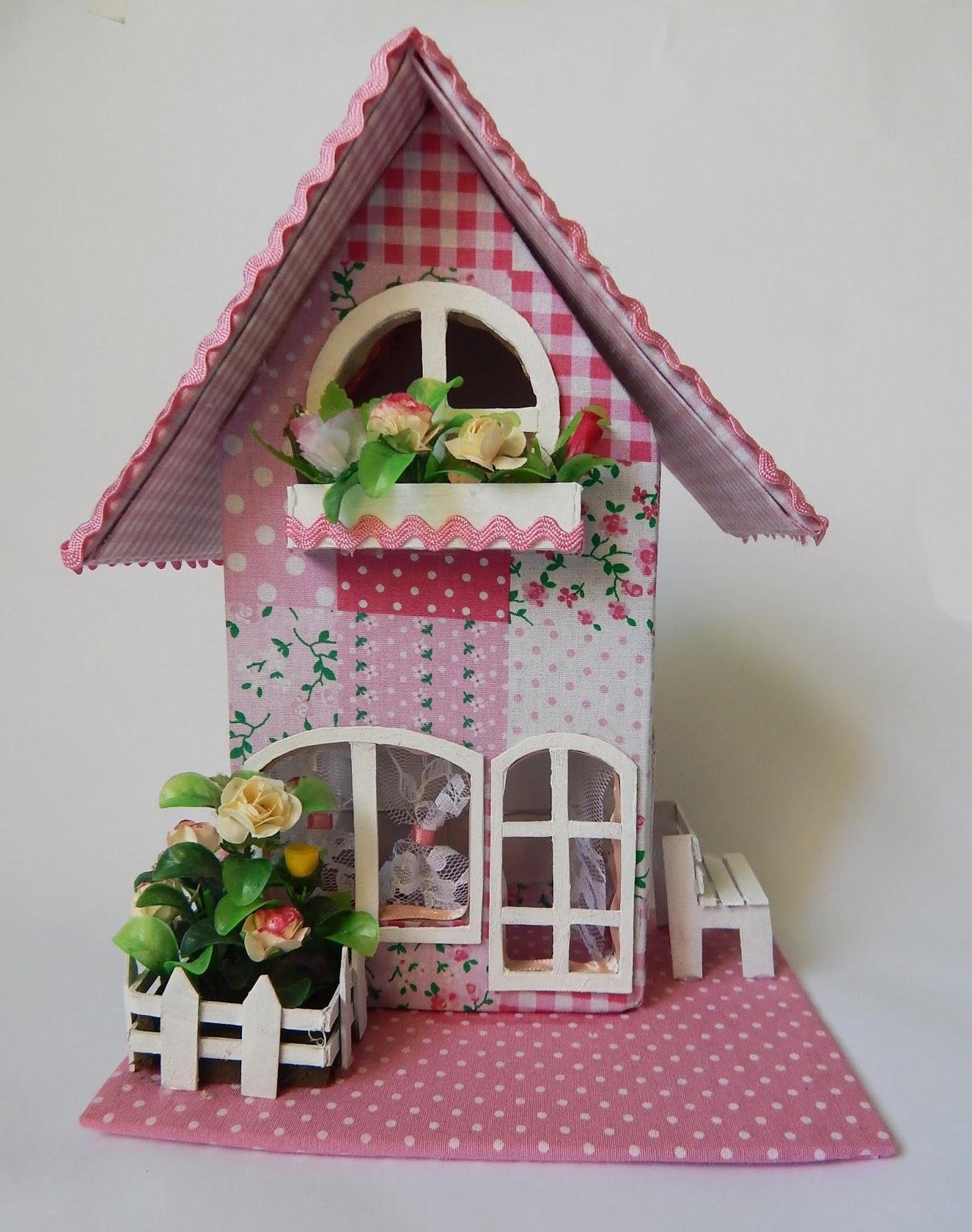 Декоративные домики своими руками мастер класс