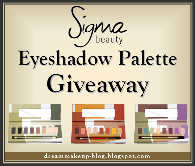 Sigma Beauty Eyeshadow Palette Giveaway