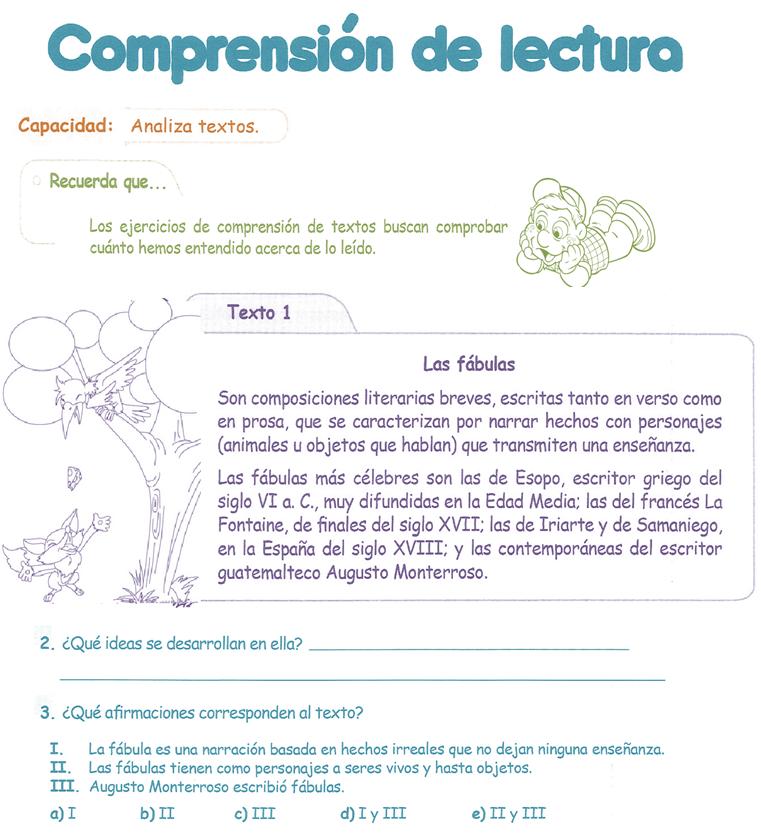 http://razonamiento-verbal1.blogspot.com/2014/01/comprension-de-lectura-para-ninos-4.html