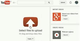cara mudah dan cepat unggah video di youtube