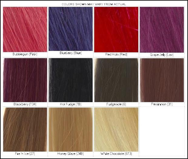 lena hoschek hair color